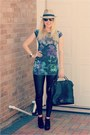 Holly-mulberry-bag-old-river-island-dress-leather-topshop-jeans