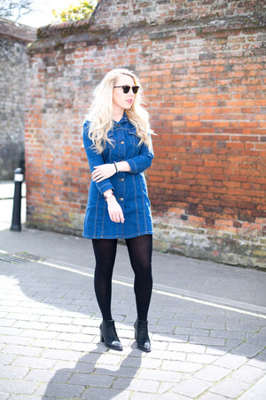 denim dress Zara dress