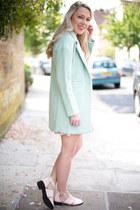 pastel coat Sheinside coat