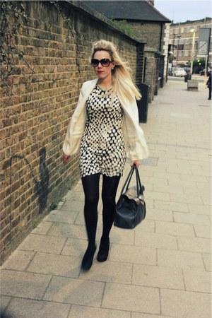 white blazer Topshop blazer - Mango dress
