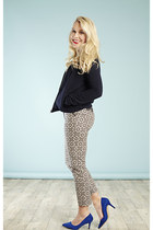 bomber KIN jacket - print trousers mint velvet pants