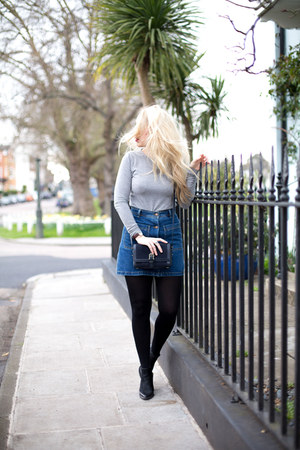 denim skirt Zara skirt
