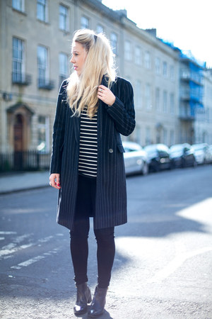 Marks and Spencer coat - skinny jeans citizens of humanity jeans
