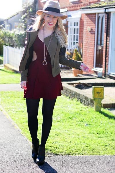 suede Zara jacket - Karma Clothing dress