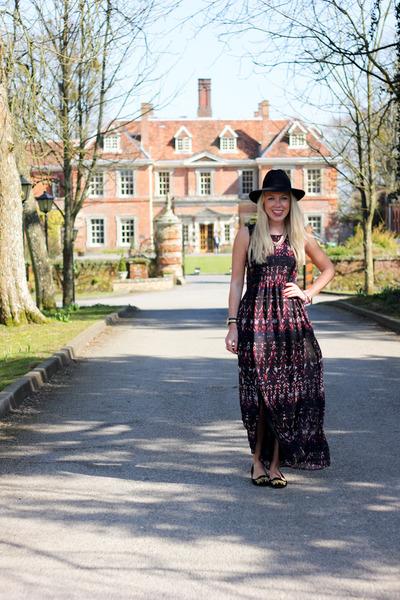 maxi H&M dress
