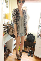 studded dry clean only shorts - Topshop shoes - available  my blog blazer