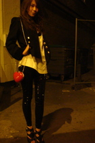 Topshop leggings - Faith accessories - Topshop jacket