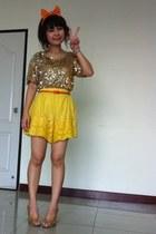 no brand top - sinehha shorts