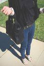Aqua-blazer-j-brand-jeans-boutique-9-shoes-dress-alexander-wang-purse-