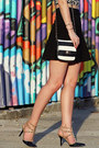 Striped-aldo-bag-black-studded-bcbgeneration-heels-black-express-skirt