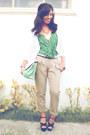 Beige-plains-and-prints-pants