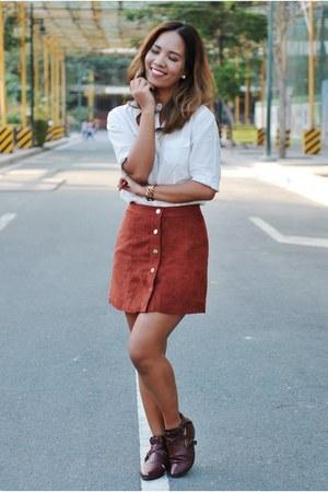 Forever 21 skirt - tonic boots