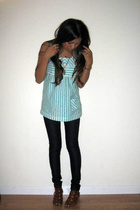 Generra top - lux jeans - Jeffrey Campbell shoes