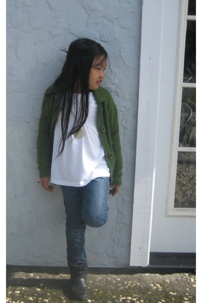 Zara sweater - Zara top - H&M jeans - Old Navy boots