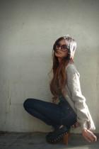 navy BDG jeans