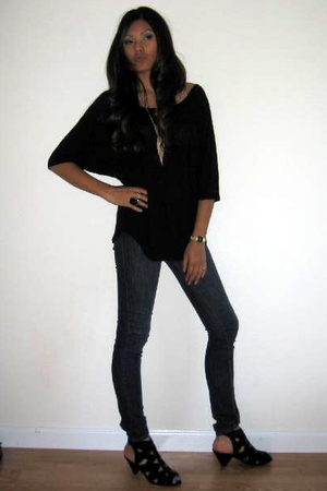 BDG top - BDG jeans - Jeffrey Campbell shoes