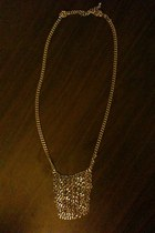 silver Forever 21 necklace