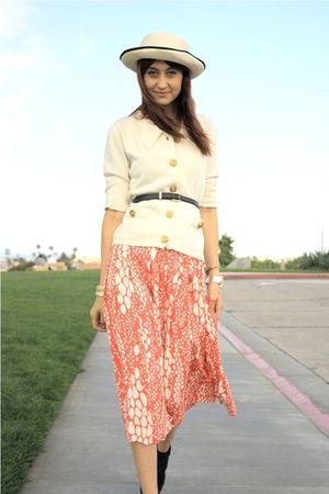 pink thrift skirt