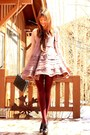 Light-pink-anthropologie-dress