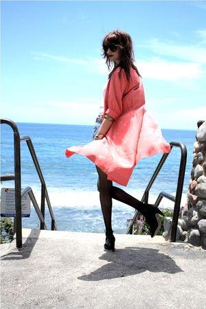 pink thrift jacket