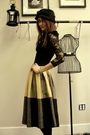 Black-wwwshopnasygalcom-shirt-gold-trash-pretty-skirt