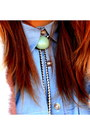 Navy-cheap-monday-jeans-salmon-vintage-jacket-sky-blue-romwe-top