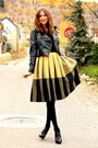 Jacket-vintage-skirt-vintage-blouse