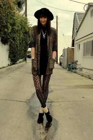 Goodwill blazer - black Target tights