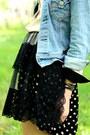 Polka-dot-vintage-skirt-lace-apron-vintage-skirt-vintage-levi-jacket