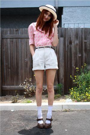 pink thrift top