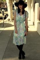 blue Goodwill dress