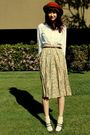 Beige-goodwill-skirt