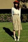 Beige-goodwill-skirt