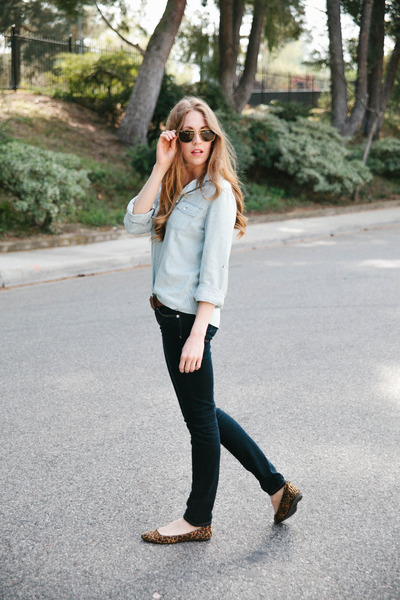 Sanctuary top - American Eagle jeans - Target flats