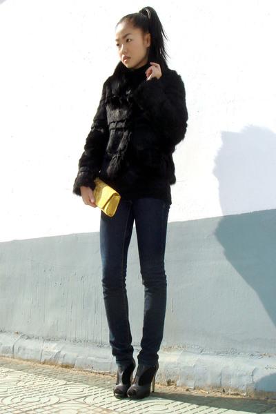 jacket - jeans - shoes