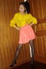 Vintage-blouse-vintage-shirt-american-apparel-stockings