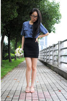 blouse - H&M skirt - shoes
