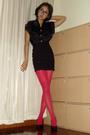 Vintage-shirt-h-m-skirt-american-apparel-tights