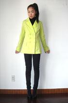 coat - H&M jeans