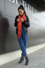 Zara-jacket-scarf-jeans-shoes