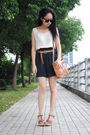 Vest-shorts-h-m-belt-bag