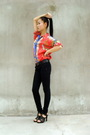 Vintage-shirt-black-american-apparel-jeans-christian-dior-shoes
