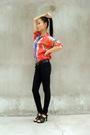 Vintage-shirt-black-american-apparel-jeans-christian-dior-shoes