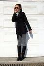 Zara-scarf-bcbg-coat-h-m-jeans-boots