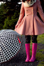 Rain-boots-ralph-lauren-boots-snood-gap-scarf-umbrella-moschino-accessories