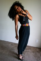 black Thrift Store bodysuit - black Thrift Store pants