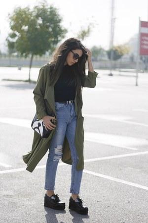 Sheinside jeans - asos top