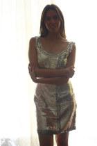 ivory Oleg Cassini dress