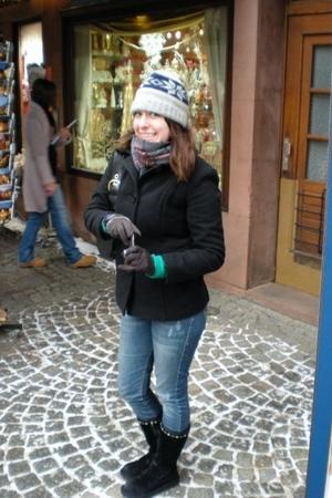 Jcrew scarf - hollister jeans