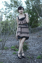 Handmade dress by me dress - black lace Lacey knighty by me dress